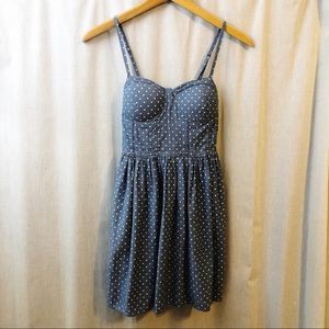 American Rag 100% Cotton Polka Dot Dress